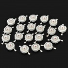 595nm 1W 45LM Yellow LED Light Bulbs (20-Piece Pack)