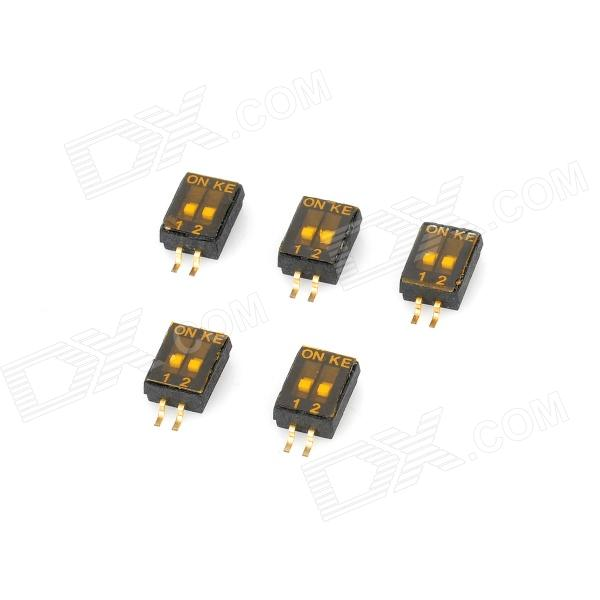 M0083 2 Pin Dip Switches (5 PCS)