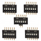 DIY 6-Position 12-Pin Dip Switch (5-Piece Pack)