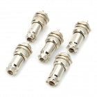 DIY 16mm 3-Pin GX16 Aviation Plug Socket Connector - Silver (5 Pieces Pack)