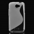 Protective TPU Back Case for HTC One X - Transparent