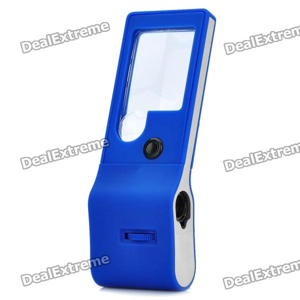 Handheld 5-LED White Light 55X Magnifier - Blue (3 x AG10) tronsmart usb type c male to usb a 3 0 female adapter gold