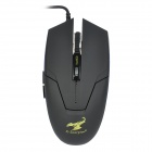 Sunsonny USB 600/1200/1800 DPI 6D Wired Gaming Optical Mouse - Black