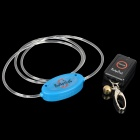 2 in 1 Fiber Blue Light Dog Collar + 5mm LED White Light Dog Light
