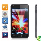 A9220 Android 4.0 WCDMA Smart Phone w/5.0-inch Capacitive, GPS and Wi-Fi - Black
