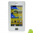 "4.3"" Resistive Touch Screen Android 2.2 MID Tablet Phone w/ WiFi / Camera - White"