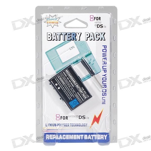 Replacement 1800mAh Lithium Battery Pack for NDS Lite