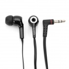 Fashion 3.5mm In-ear Style Stereo Earphone for Iphone/Ipad/Ipod - Black