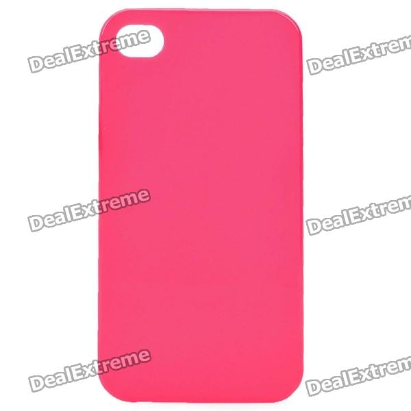 Protective PVC Case for Iphone 4 / 4S - Red