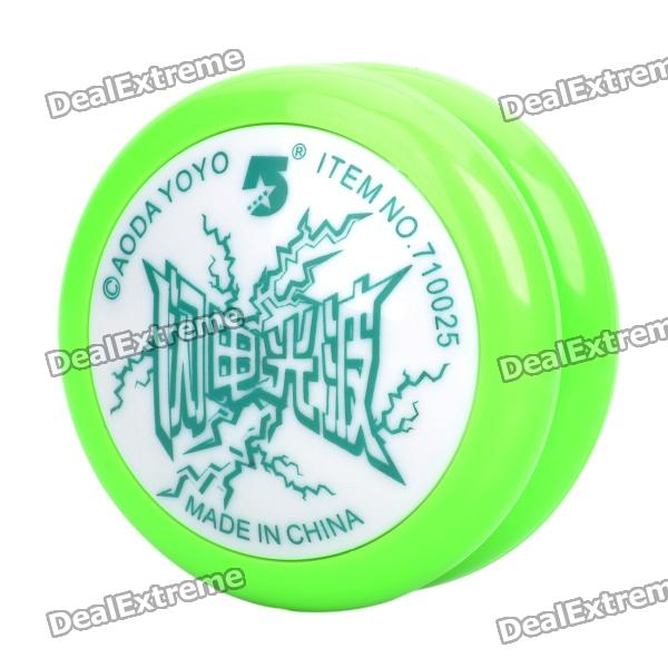 Storm yoyo ball with light and flash - green...