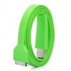 USB Data / Charging Cable for iPad 2 / the New iPad / iPhone 4S - Green (100cm)