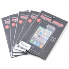 Protective Screen Guards with Cleaning Cloth for HTC G21 (5-Piece)
