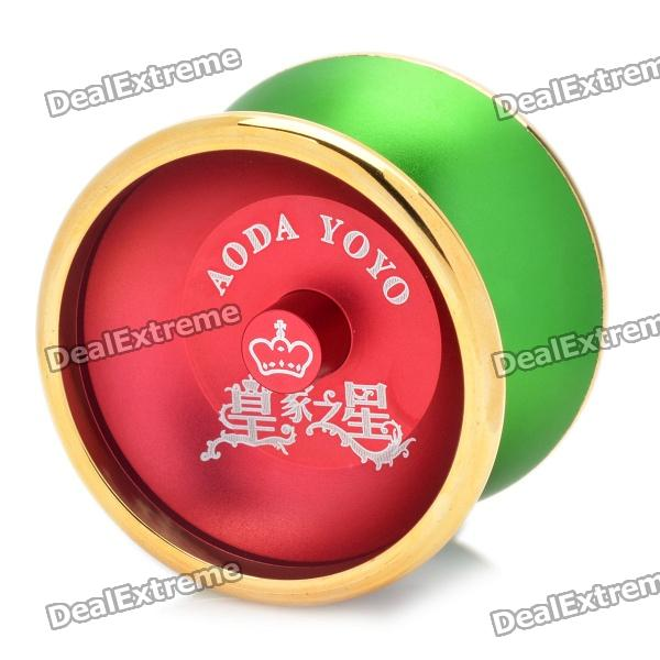 AODA Aluminum alloy YO-YO Toy - Green + Wine Red aoda plastic yo yo toy green