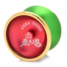 AODA Aluminum alloy YO-YO Toy - Green + Wine Red