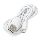 USB Sync/Charging Cable for HTC One X / HTC One V / HTC One S - White (118cm-Length)