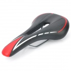 Cycling Bike Bicycle Hollow Out Seat Saddle - Black + Red + White