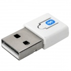 Mini Bluetooth V4.0 USB Dongle Adapter - White