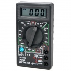 "DT-830B 1,8 ""LCD Portable Digital Multimeter - Schwarz (1 x 6F22)"