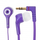 3.5mm In-ear Style Stereo Earphone for Iphone/Ipad/Ipod - Purple