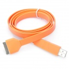 USB Data / Charging Cable for iPad 2 / the New iPad / iPhone 4S - Orange (100cm)