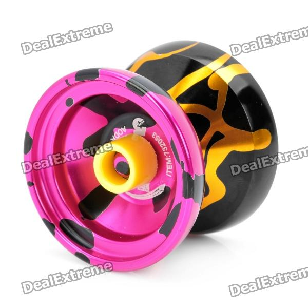 Stainless Steel AODA YO-YO - Deep Pink + Black