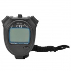 "1.6"" LCD Sports Stopwatch with Time/Date/Week Display - Black(1 x CR2032)"