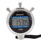 "1.5"" LCD Outdoor Sports Stopwatch with Time/Date/Week Display - Black (1 x AG13)"