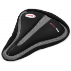 Memory Foam Bike Saddle Cover - Black