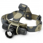 510-Lumen 5-Mode White LED Headlamp - Black (1 x 18650)