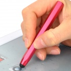 Stylish Aluminum Alloy Stylus Pen for Capacitive Touch Screen / Iphone / Ipad / Cell Phone - Red