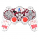 2.4GHz Wireless Dual-Shock Gaming Control for PS2 / PS One / PS X - Red (3 x AAAA)