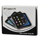 "SoftwinerEvb 8"" Capacitive Touch Screen Android 4.0 Tablet w/ Dual Camera / WiFi / TF - Silver (4GB)"