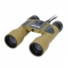 Outdoor Sports 8x32mm Binocular Telescope with Strap and Carrying Bag - Sand Color