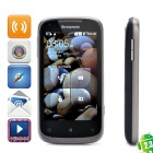 "Lenovo A750 Android OS 2.3 WCDMA Cellphone w/ 4.0"" Capacitive, GPS and Wi-Fi - Coffee Black"