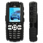 "Super Rugged GSM Bar Phone w/2.0"" LCD Screen, Triple Band, FM and Java - Black"