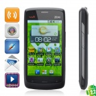 "ZTE V880+ Android 2.2 WCDMA Bar Phone w/ 3.5"" Capacitive, GPS, Single-SIM and Wi-Fi - Black"