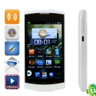 "ZTE V881 Android 2.3 WCDMA Smart Phone w/3.8"" Capacitive, Wi-Fi and GPS - Black"