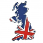 3D Cool Car Decoration Sticker - Flag of UK