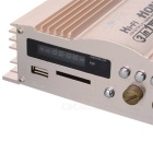 120W USB SD FM Hi-Fi Car Stereo Audio Amplifier for MP3/PC/DVD/CD