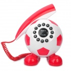 Cute Football Shaped Wired Telephone