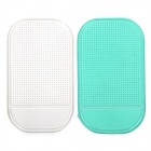 Magic Compact Anti-slip Mat Car Dashboard Pair - Green + Transparent