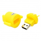 Android Robot Style USB 2.0 Flash Drive - Yellow (32GB)