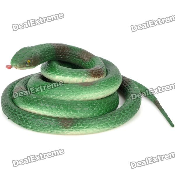 Toy Scary serpiente Lifelike - Verde