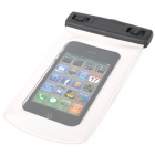Universal Stylish Waterproof Bag for Iphone / Cell Phone - White + Black