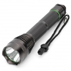 New-261 1000LM 5-Mode Cool White Flashlight - Coffee (2 x 18650 / 2 x 26650)