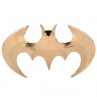 Cool 3D Bat Style Car Decoration Sticker - Golden