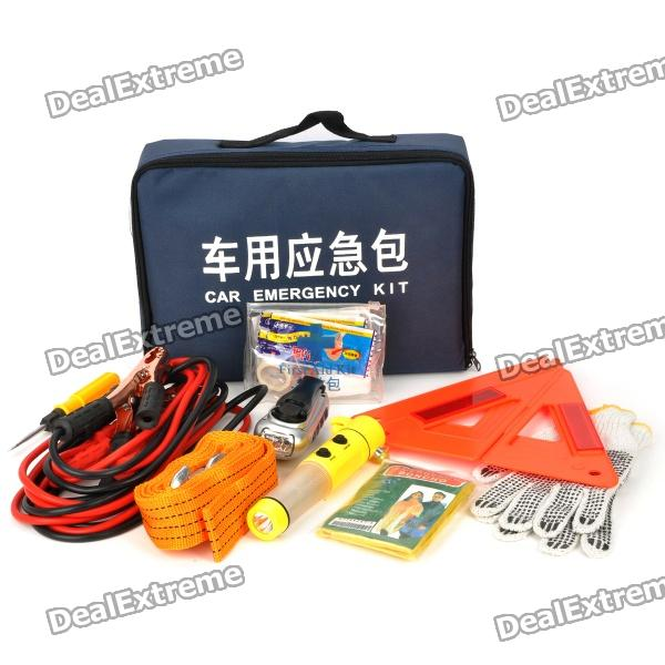 9-in-1 Car Emergency Kit