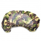 Car Licence Plate Anti-Dust Covers - Camouflage Color (Pair)