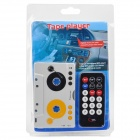 Cassette Adapter MP3 Player for Cars w/ Remote Controller (Reads SD/MMC)