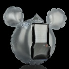 Mickey Mouse Style Solar Powered 1W 6500K 100LM 2-Mode 1-LED Inflatable Lamp Bag